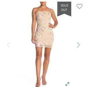 Kendall and Kylie Romance Floral mini dress